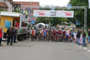 Hauptrennen beim Abendkriterium 2016 am 14.7.2016